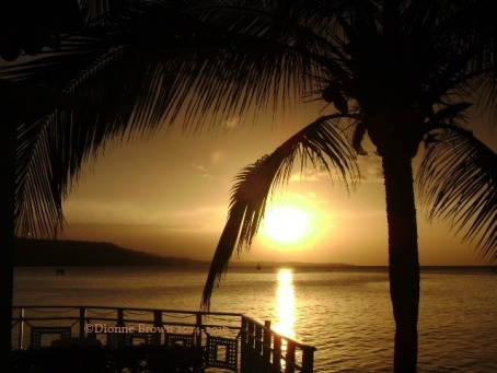 Sunset, Ocho Rios
