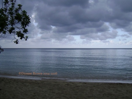 Rainy day in Ocho Rios Bay