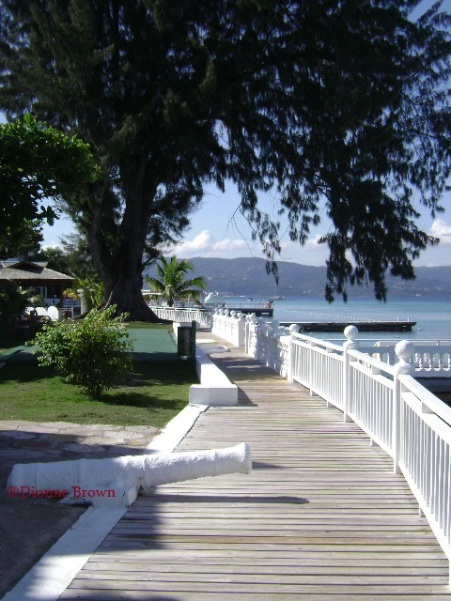 Boardwalk at the Royal DeCameron Hotel in Montego Bay