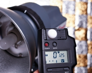 ID-10047217 (2)-Studio Light meter by Graeme Weatherston